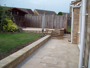 Contact us for all your Garden Redesign work